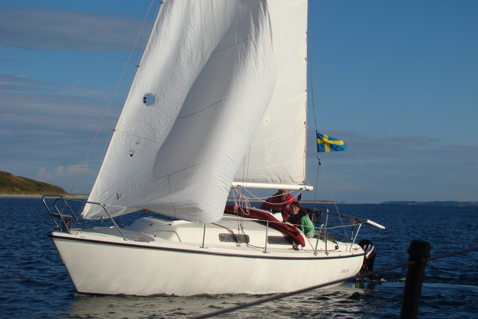 Segelboot Johnson 23